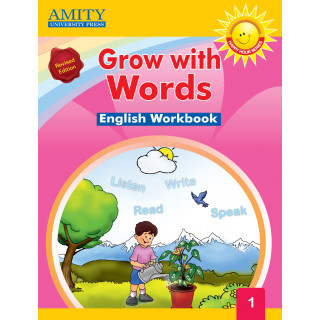 Grow With Words Workbook - 1
