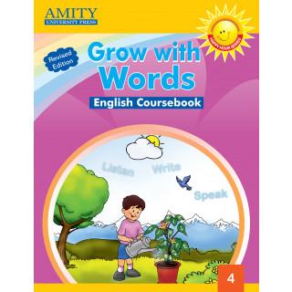 Grow With Words Coursebook - 4